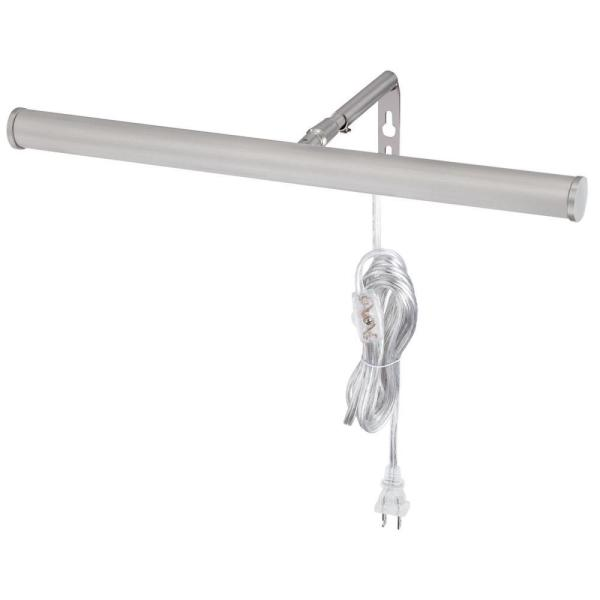 LED Brushed Nickel 14 in. Picture Light