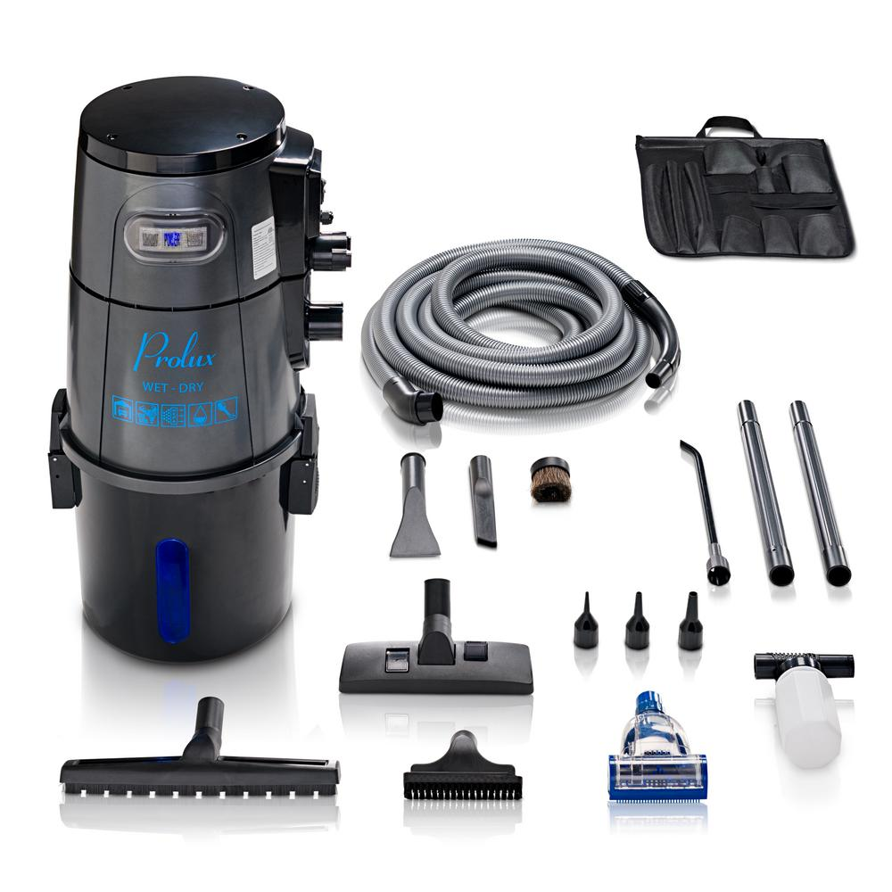 Prolux 5.8 Gal. Professional Shop Wall Mounted Garage Wet/Dry Vac with Blower Attachment