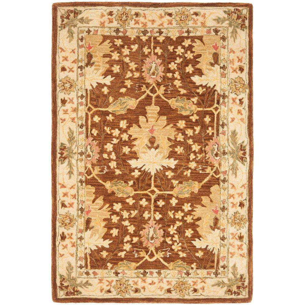 Anatolia Brown 3 ft. x 5 ft. Area Rug