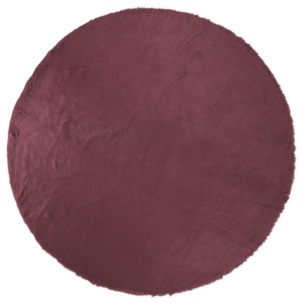 Home Decorators Collection Faux Sheepskin Purple 8