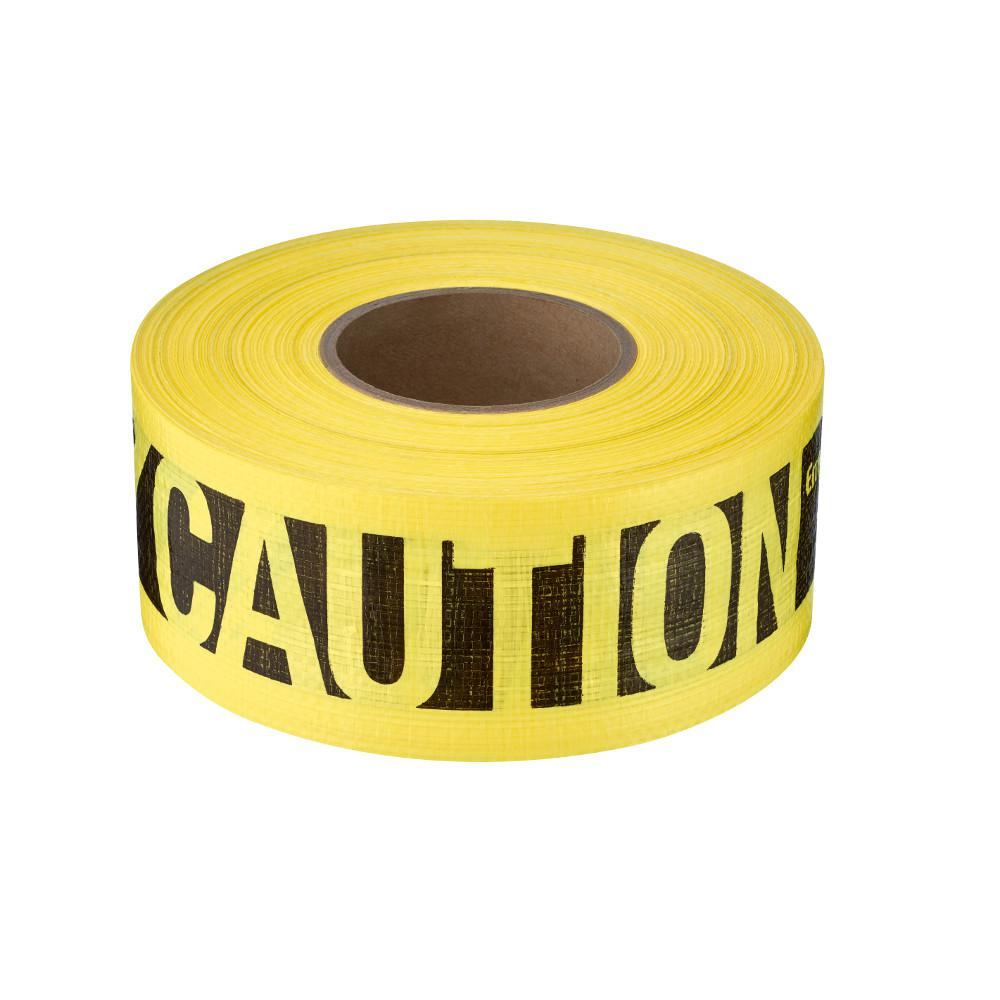 Empire 3 in. x 500 ft. Reinforced Caution Tape