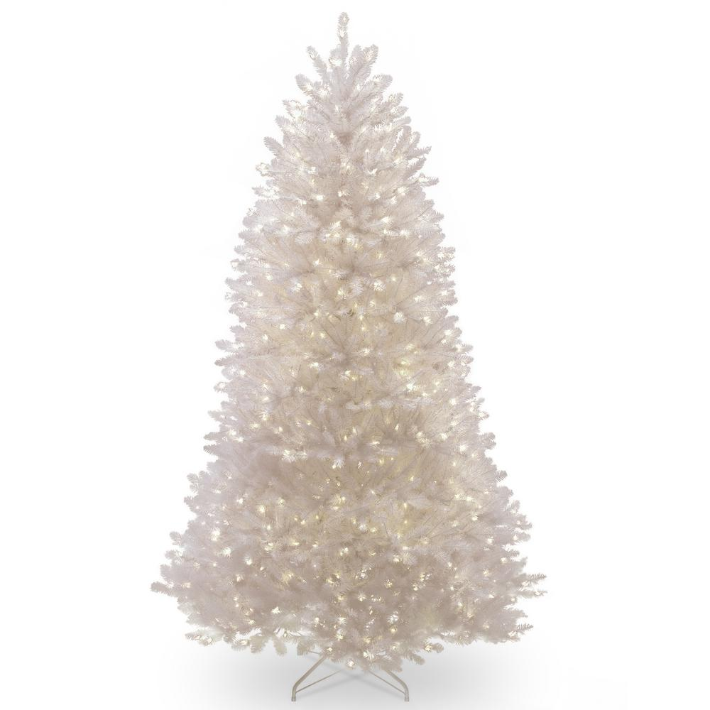 National Tree Company 7 Ft Dunhill White Fir Tree With
