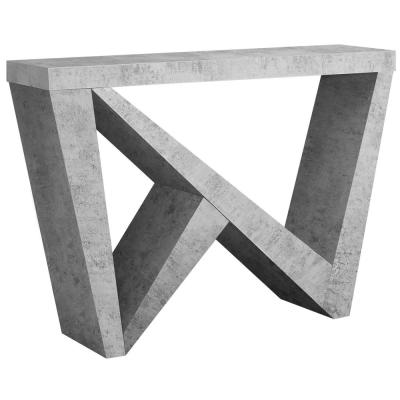 Grey Cement Console Table