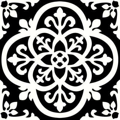 Gothic Peel and Stick Floor Tiles 12 in. x 12 in. (Qty of 20 Tiles, 20 sq. ft.)