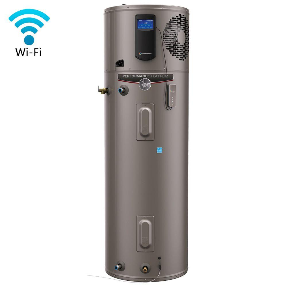 Tall 12 Year Hybrid Electric Water Heater With Heat Pump