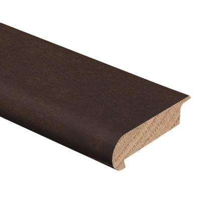 Auburn Acacia 3/8 in. Thick x 2-3/4 in. Wide x 94 in. Length Hardwood Stair Nose Molding Overlap