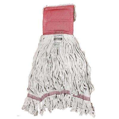 Large 4-Ply Looped End Cotton Mop with 5 in. Band