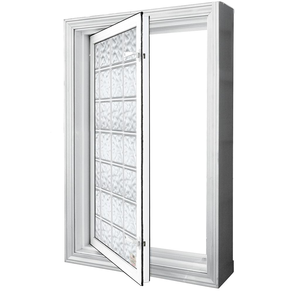 Wellcraft 29 In X 47 In Egress Acrylic Block Window