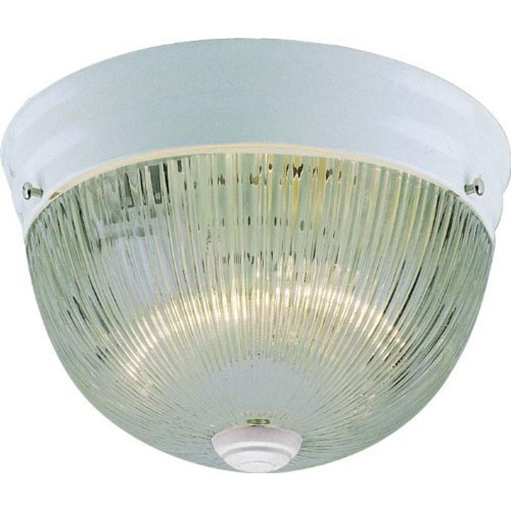 Volume Lighting 2-Light White Interior Flush Mount-V7158-6 - The ...