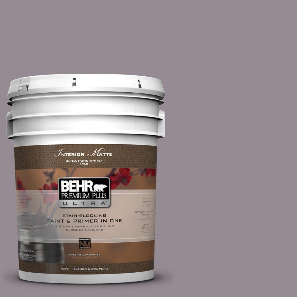 BEHR Premium Plus Ultra 5 gal. #UL250-6 Contessa Flat/Matte Interior Paint