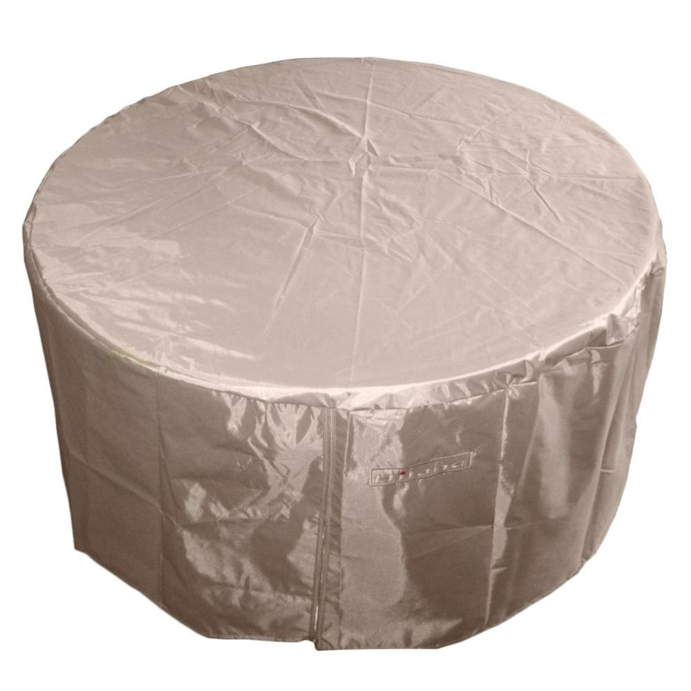 48 in. Heavy Duty Cover for Large Round Fire Pit