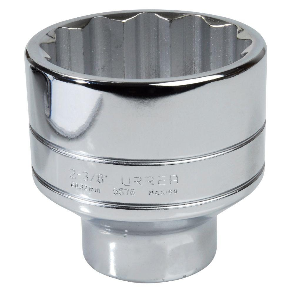 URREA 3/4 in. Drive 12 Point 1-1/2 in. Chrome Socket
