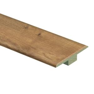 Zamma Riverbend Oak 7/16 in. Thick x 1-3/4 in. Wide x 72 in. Length Laminate T-Molding-0137221732 - The Home Depot