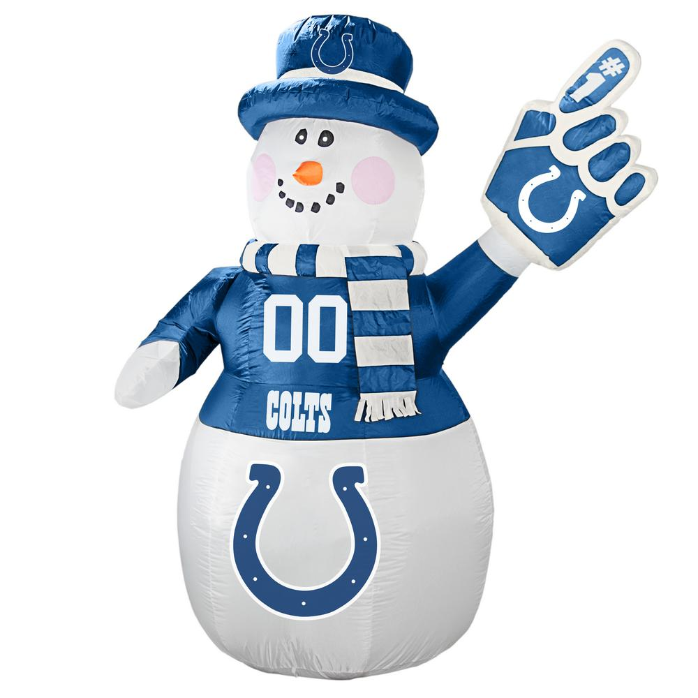 Indianapolis Colts Inflatable Snowman