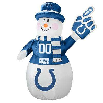 7 ft. Indianapolis Colts Inflatable Snowman