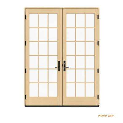 72 in. x 96 in. W-4500 Hartford Green Clad Wood Left-  sc 1 st  The Home Depot & Yes - Green - 71 x 96 - Exterior Doors - Doors u0026 Windows - The Home ...