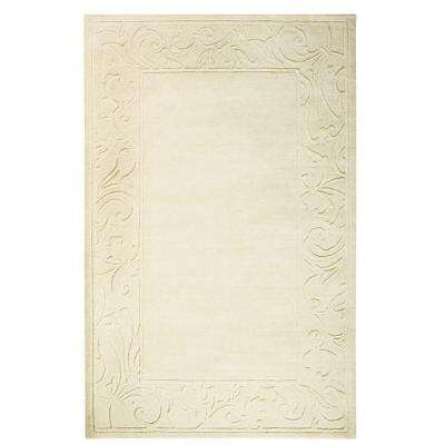 Cyrus Ivory 8 ft. x 11 ft. Area Rug