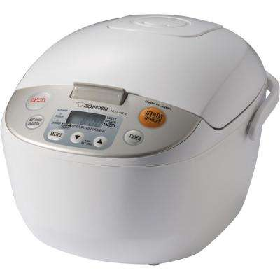 Micom Rice Cooker and Warmer White 10 Cup Japan