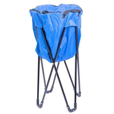 Folding Camping Outdoor Cooler Bag in Blue