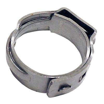 3/8 in. Stainless Steel PEX Barb Pinch Clamp (10-Pack)
