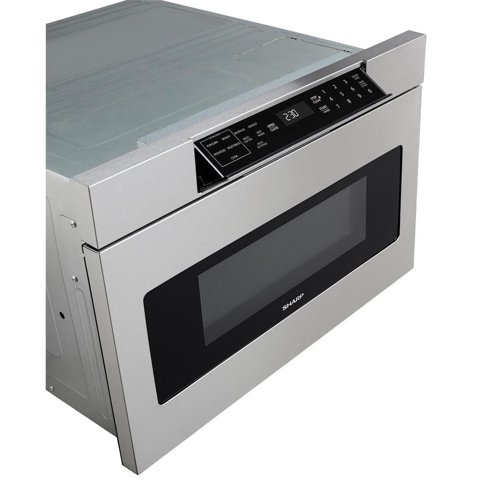 W 1 2 Cu Ft Built In Microwave Drawer