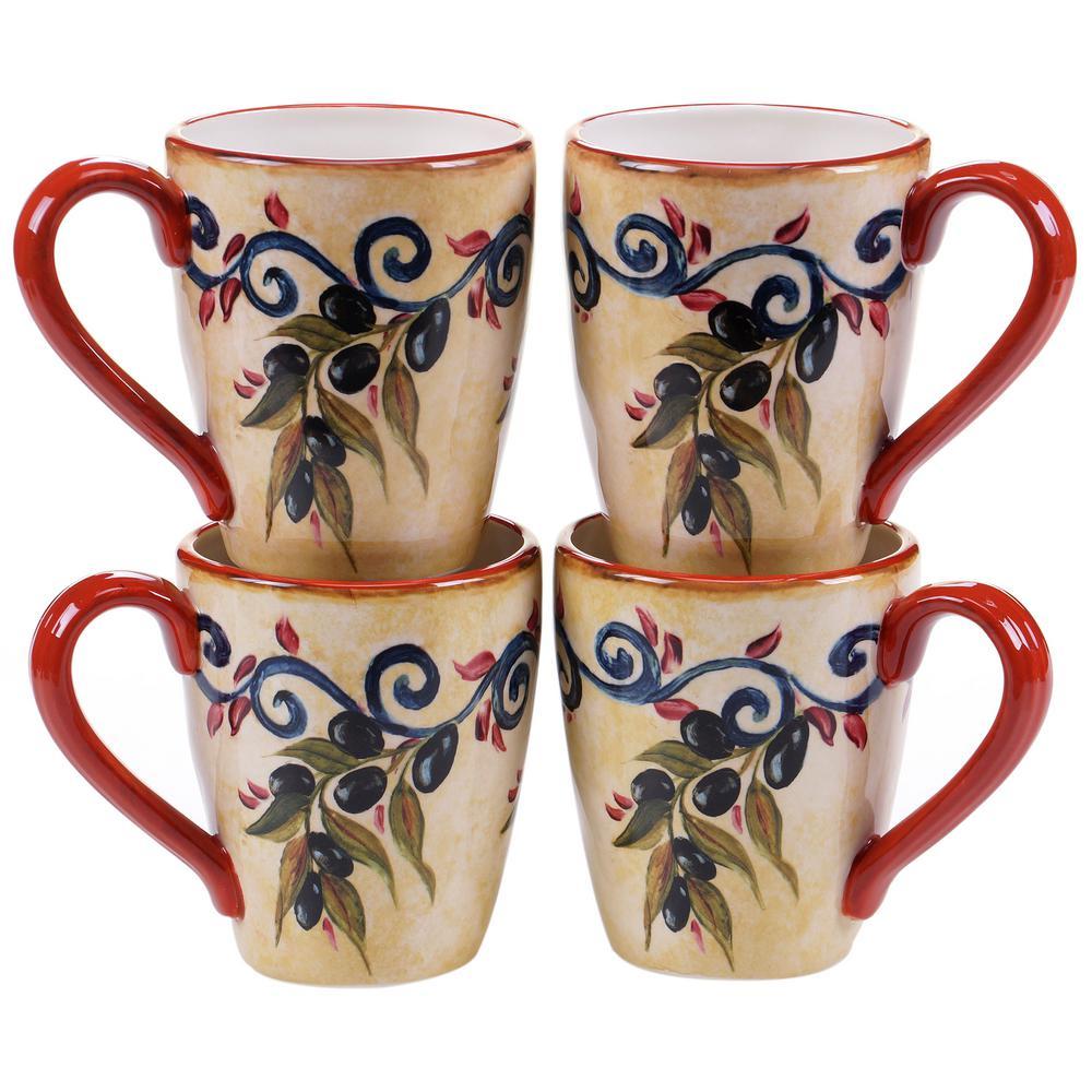 Umbria 22 oz. Mug (Set of 4) by