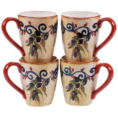 Umbria 22 oz. Mug (Set of 4)