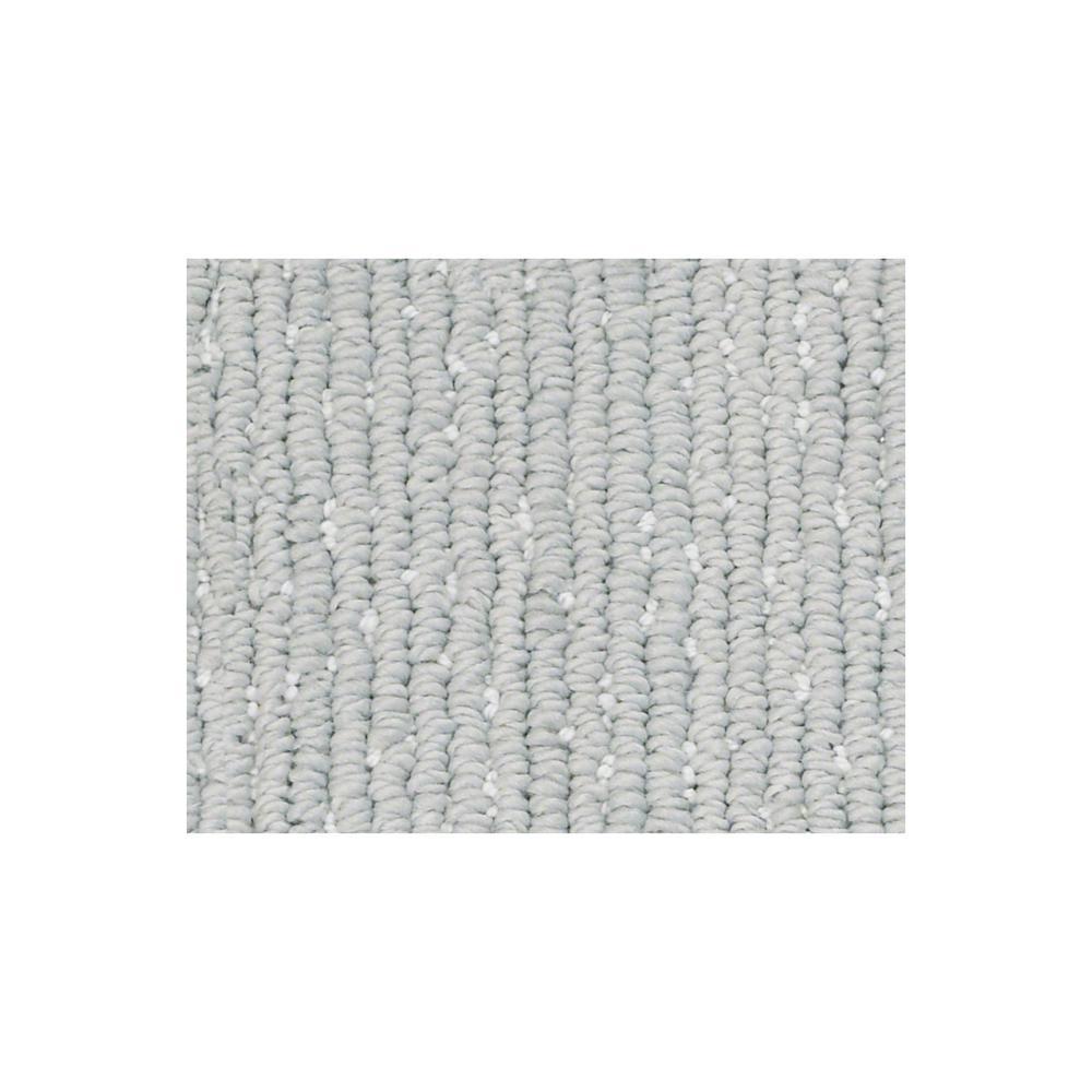 Carpet Sample - Naples - Color Sea Salt Loop 8 in. x 8 in.