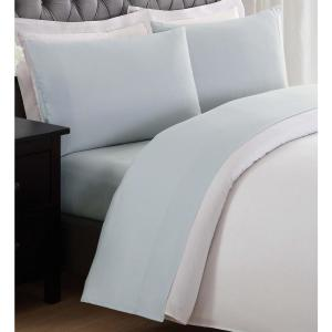 Anytime Silver Grey Twin Sheet Set