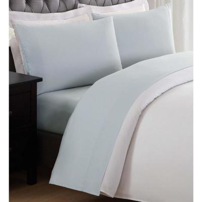 Anytime Silver Grey Twin XL Sheet Set