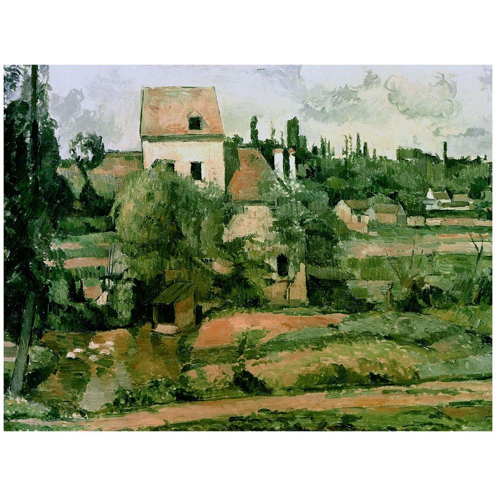26 in. x 32 in. Moulin de la Couleuvre Pontoise Canvas