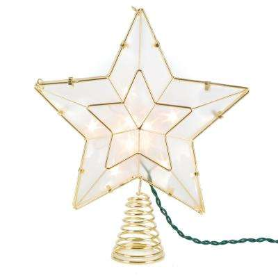 11 in H. Gold Star Tree Topper