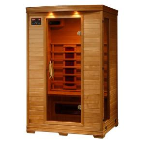 Radiant Sauna 2-Person Hemlock Infrared Sauna with 5 Ceramic Heaters by Radiant Sauna