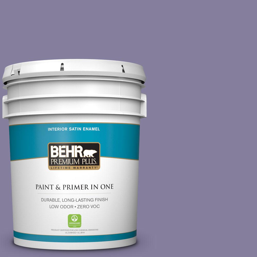 5-gal. #S570-5 Live Jazz Satin Enamel Interior Paint