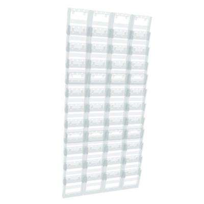 48-Pocket Trifold Wall Mount Display