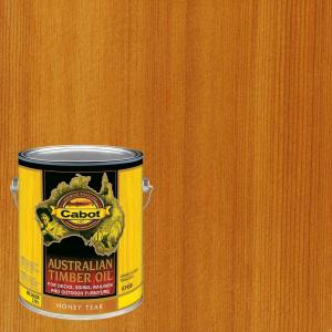 Cabot 1 Gal Honey Teak Australian Timber Oil Exterior