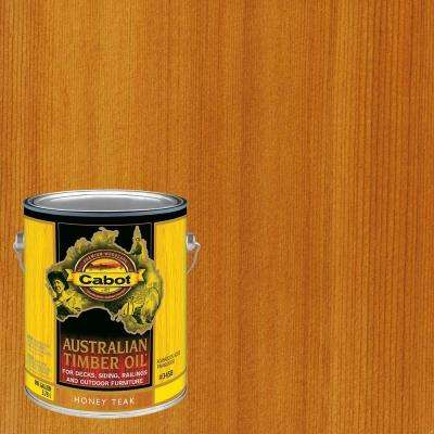 1 gal. Honey Teak Australian Timber Oil Exterior Wood Finish