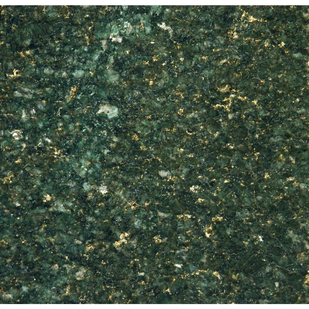 MSI Verde Ubatuba 18 in. x 18 in. Polished Granite Floor and Wall Tile (9 sq. ft. / case)
