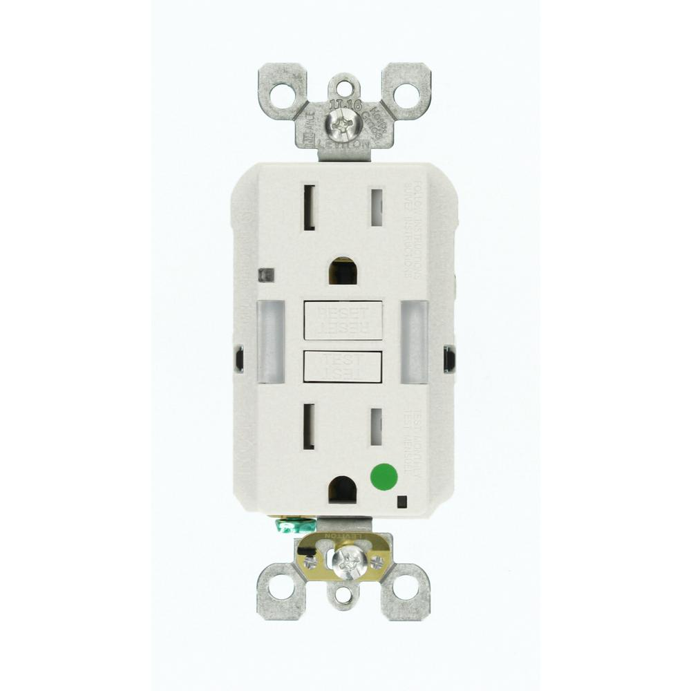 Electrical Outlets Receptacles Wiring Devices Light Controls X10 Wall Switch Diagram 15 Amp Smartlockpro Hospital Grade Heavy Duty Tamper Resistant Duplex Gfci