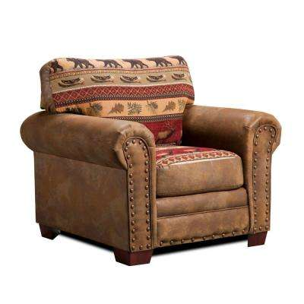 Sierra Lodge Tapestry Upholstered Chair
