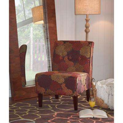 Coco Harvest Fabric Accent Chair