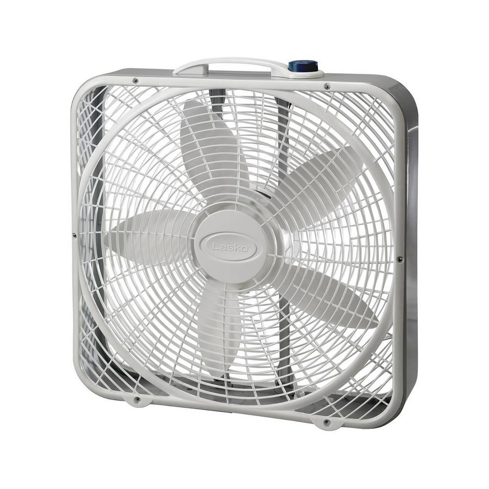 lasko 20 in. 3 speed box fan-3721 - the home depot lasko box fan fuse fan capacitor the home depot