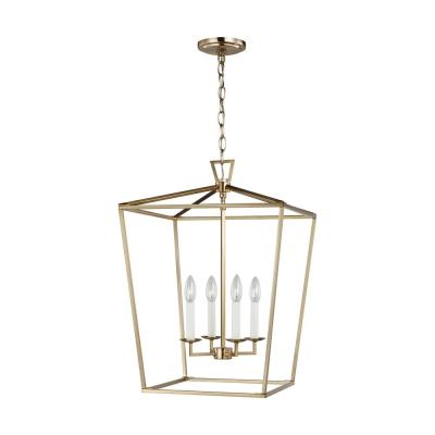 Dianna 4-Light Satin Bronze Medium Pendant