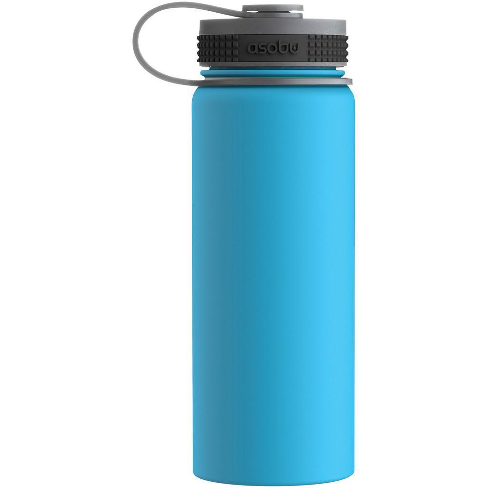 Alpine 18 oz. Blue Flask