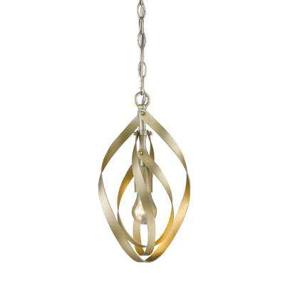 Nicolette 1-Light White Gold Pendant