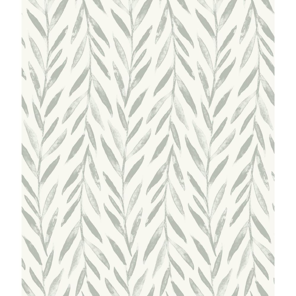 Willow Grey Paper Peelable Roll (Covers 34 sq. ft.)