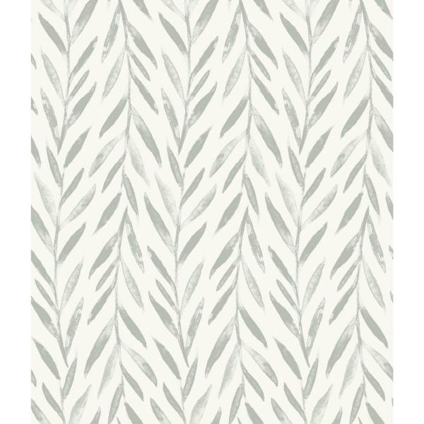 Magnolia Home By Joanna Gaines Willow Grey Paper Peelable Roll Covers 34 Sq Ft Psw1018rl The Home Depot