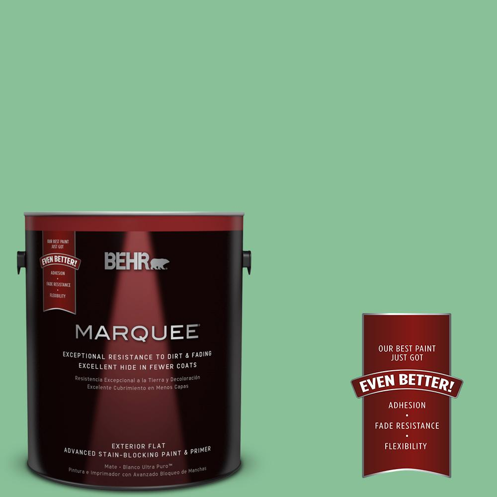 BEHR MARQUEE 1-gal. #MQ6-40 Country Weekend Flat Exterior Paint