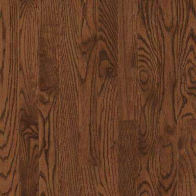 Take Home Sample - American Originals Brown Earth Oak Engineered Click Lock Hardwood Flooring - 5 in. x 7 in.