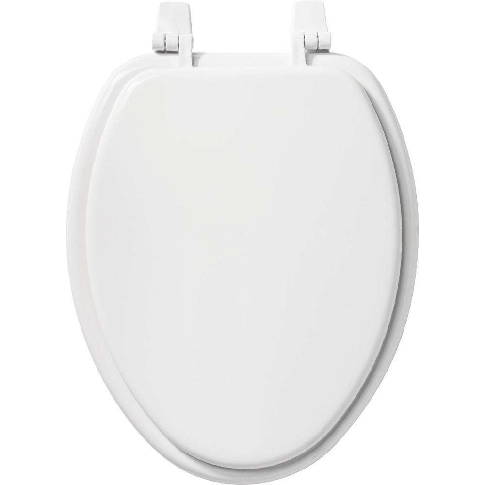 Tremendous Church Elongated Closed Front Toilet Seat In White Gamerscity Chair Design For Home Gamerscityorg